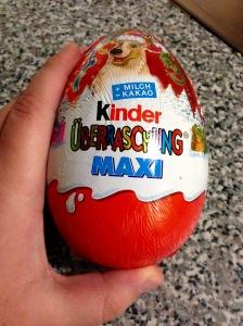 kinder egg 1