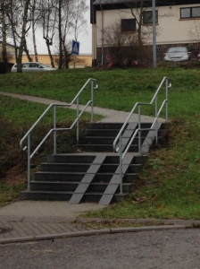 handicap stairs?