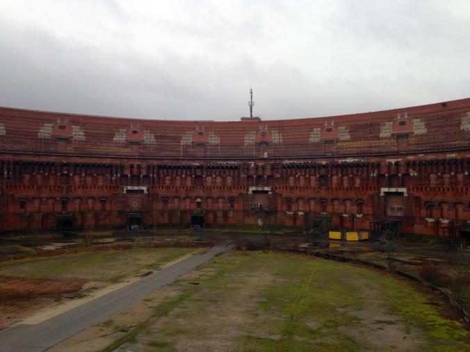unfinished brick interior